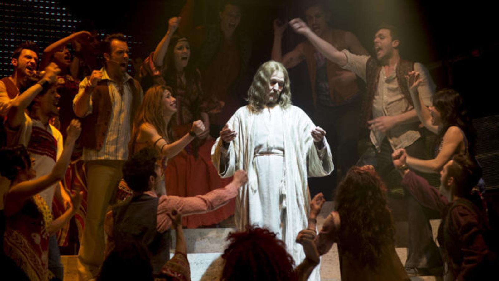 """""""Hi ha gent que troba la fe en Crist amb l'espectacle"""""""