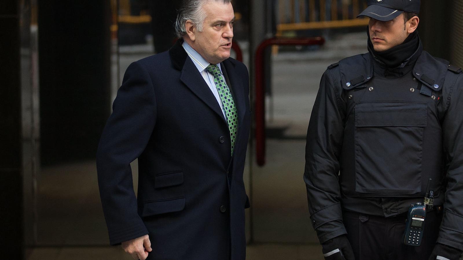 L'extresorer del PP Luis Bárcenas en una imatge a Madrid el febrer del 2013.