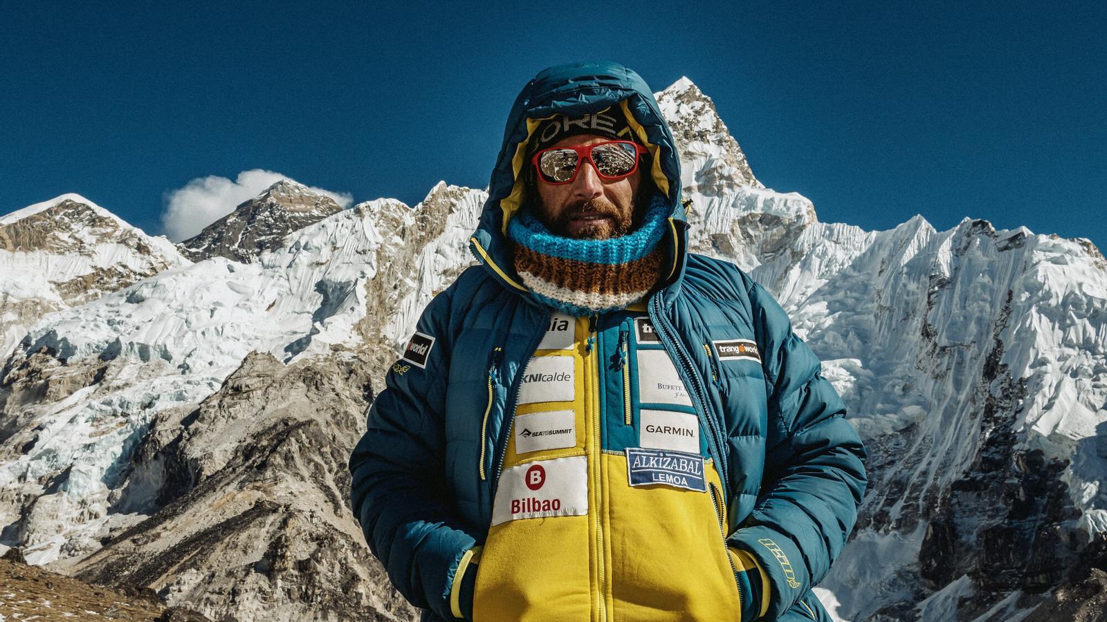 L'alpinista Alex Txikon