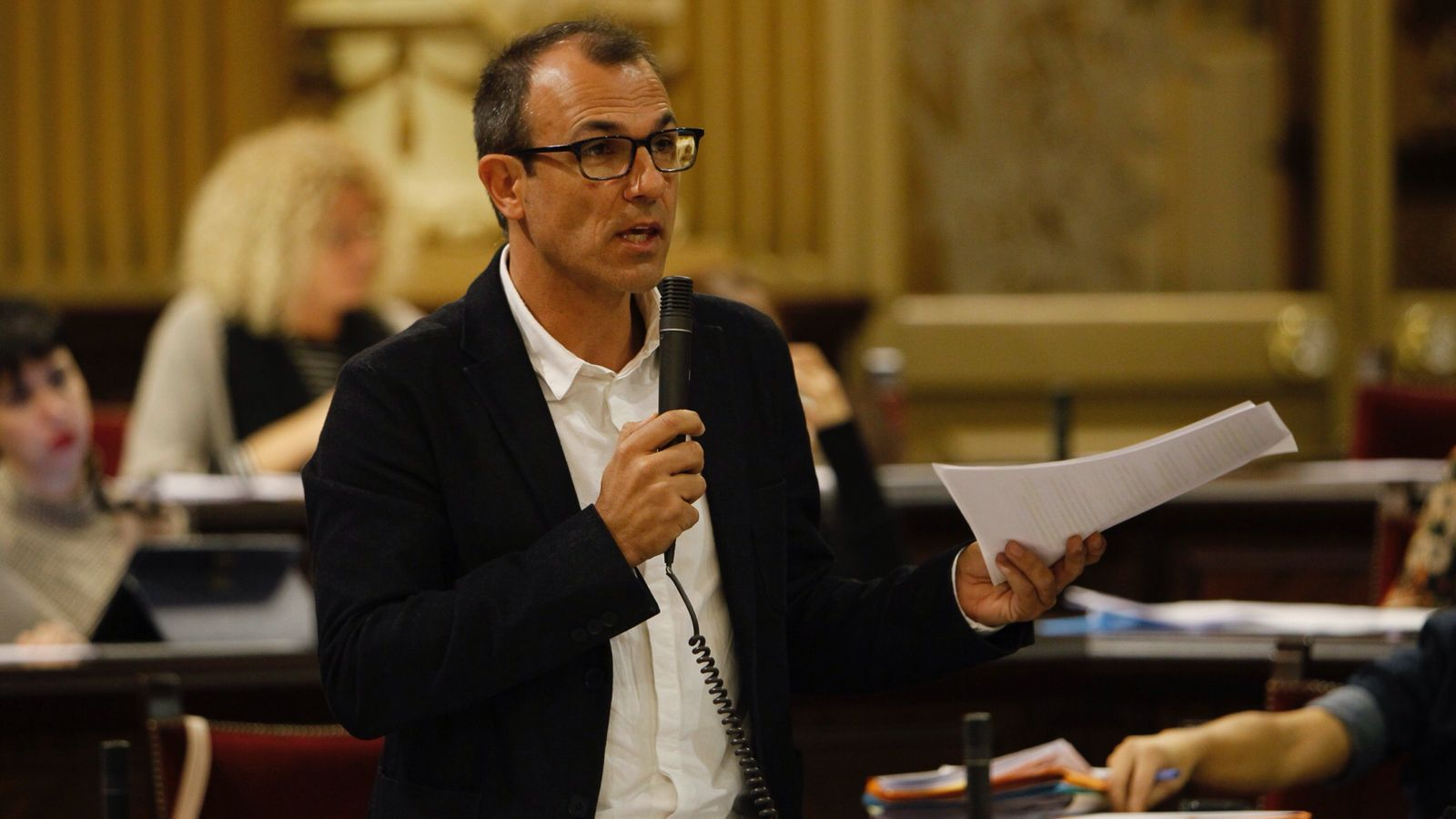 El conseller Biel Barceló, aquest dimarts al Parlament.