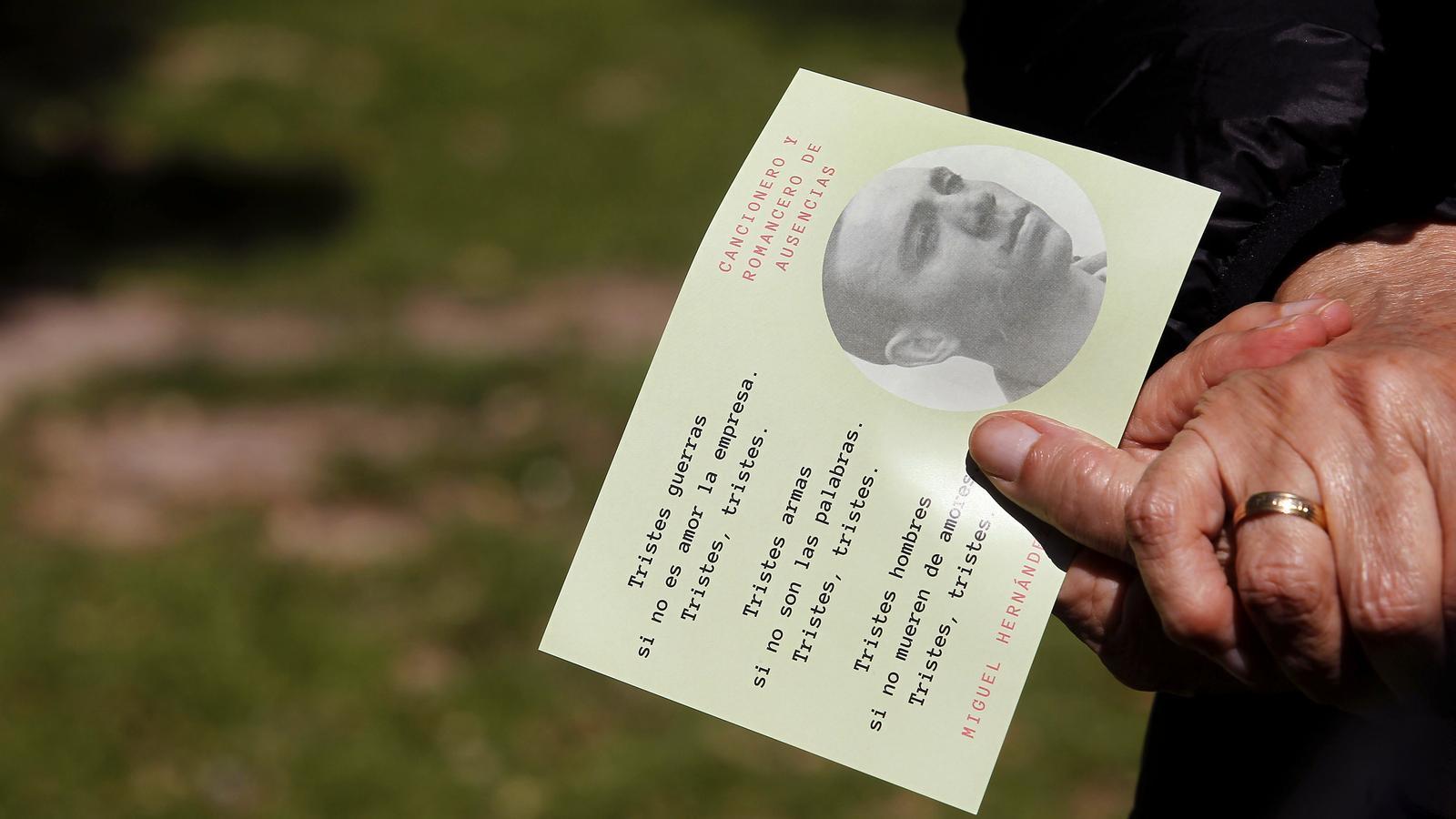 75 anys després, Miguel Hernández segueix sent el poeta dels camperols