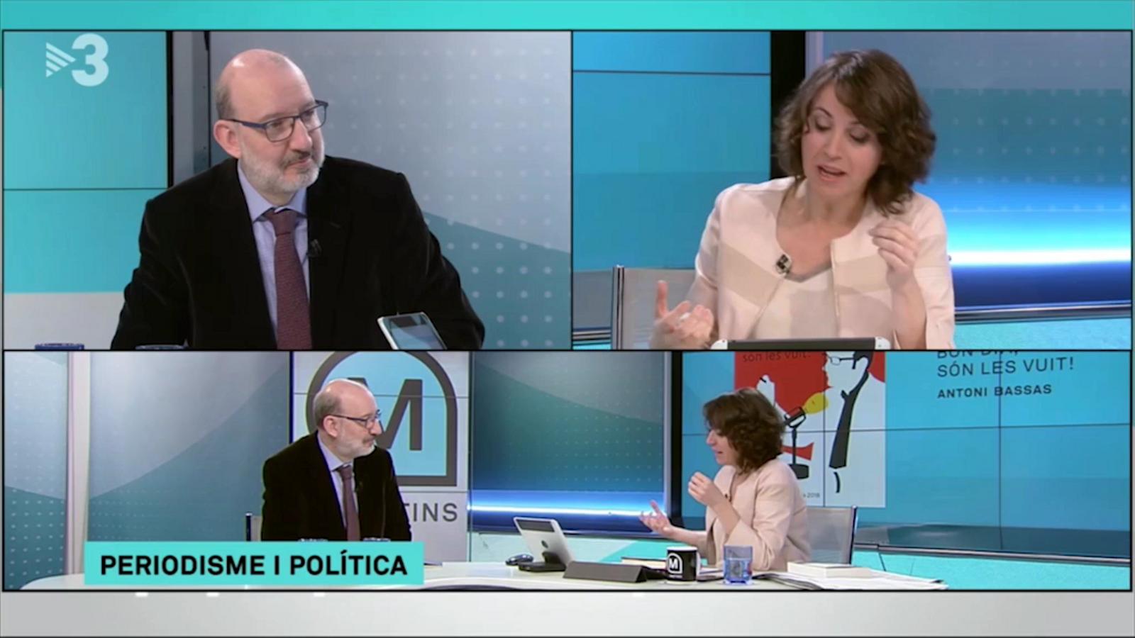 Lídia Heredia pregunta a Antoni Bassas sobre els mitjans públics
