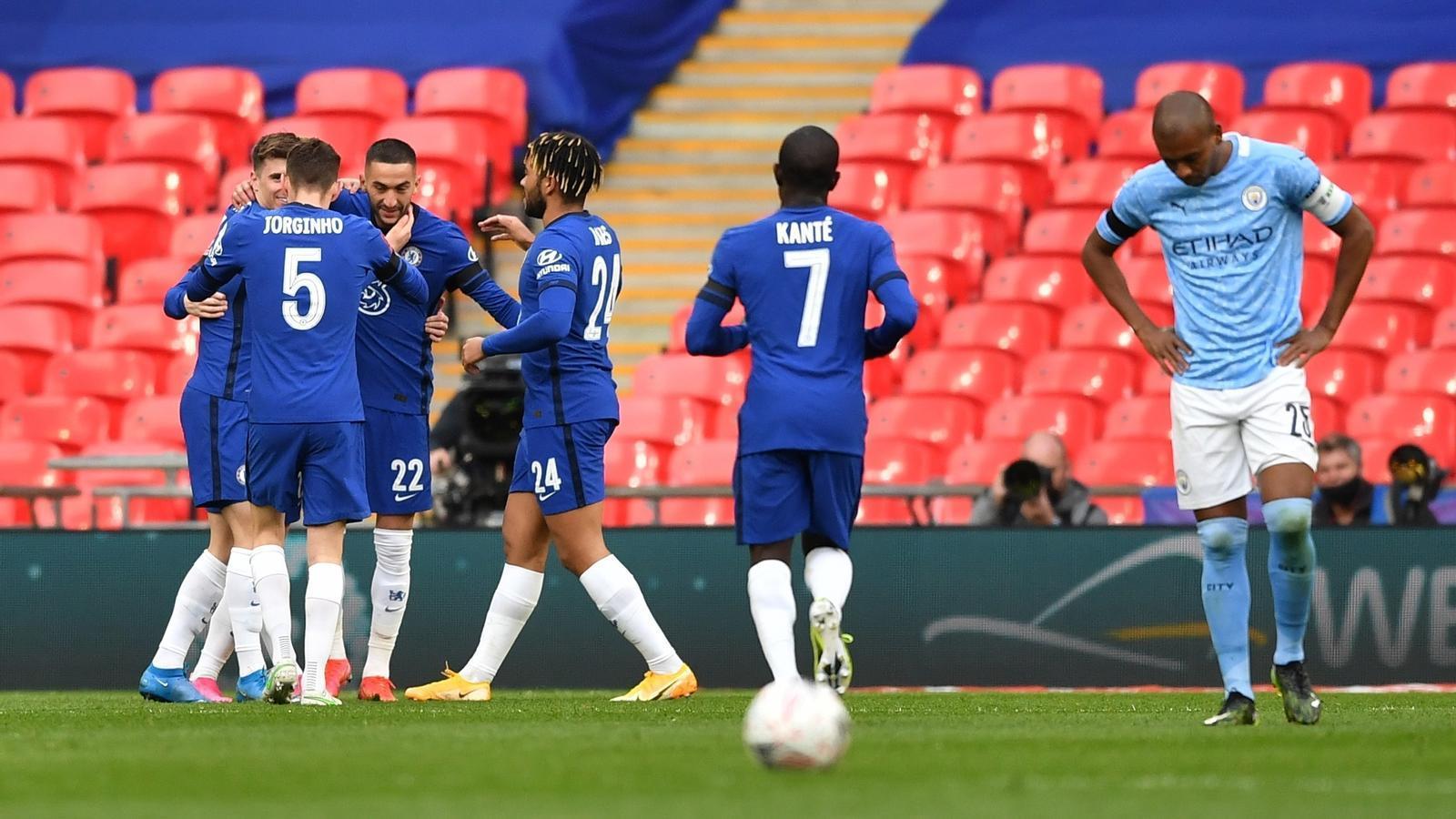 El Chelsea deixa el Manchester City sense la final de la FA Cup (1-0)