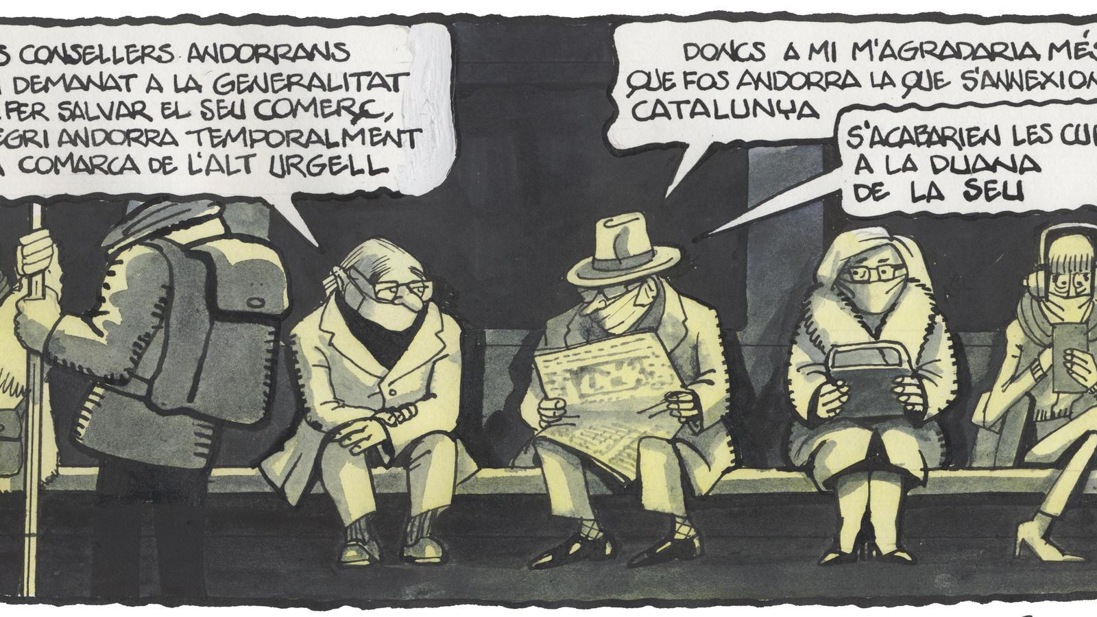 'A la contra', per Ferreres 01/12/2020