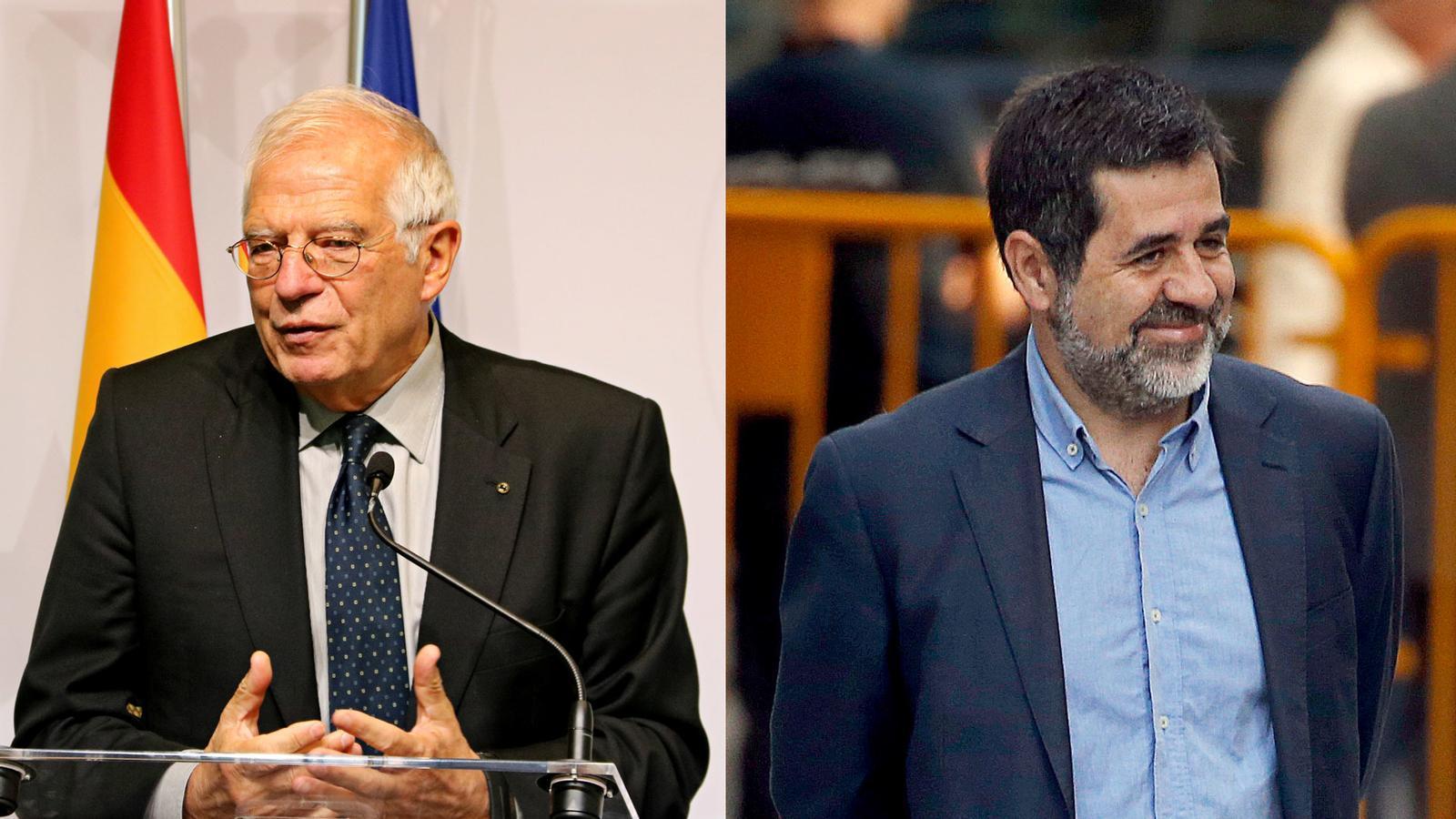 L'anàlisi d'Antoni Bassas: 'Jordi Sànchez a Josep Borrell: «L'escàndol d'aquest judici els acabarà devorant»'