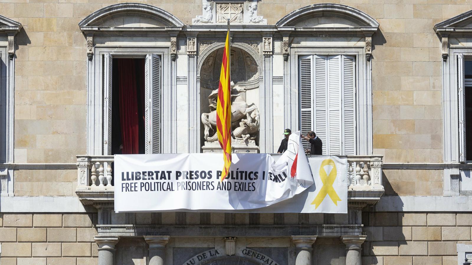 Torra afirma que no pagarà la multa de 5.500 euros per defensar els presos i criticar el 155 durant la campanya