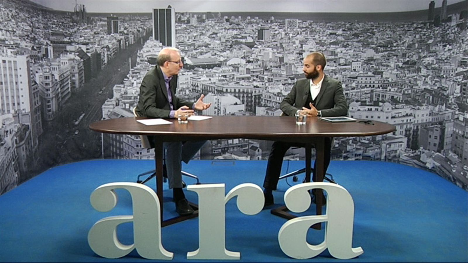 Entrevista d'Antoni Bassas a Raimon Puigjaner