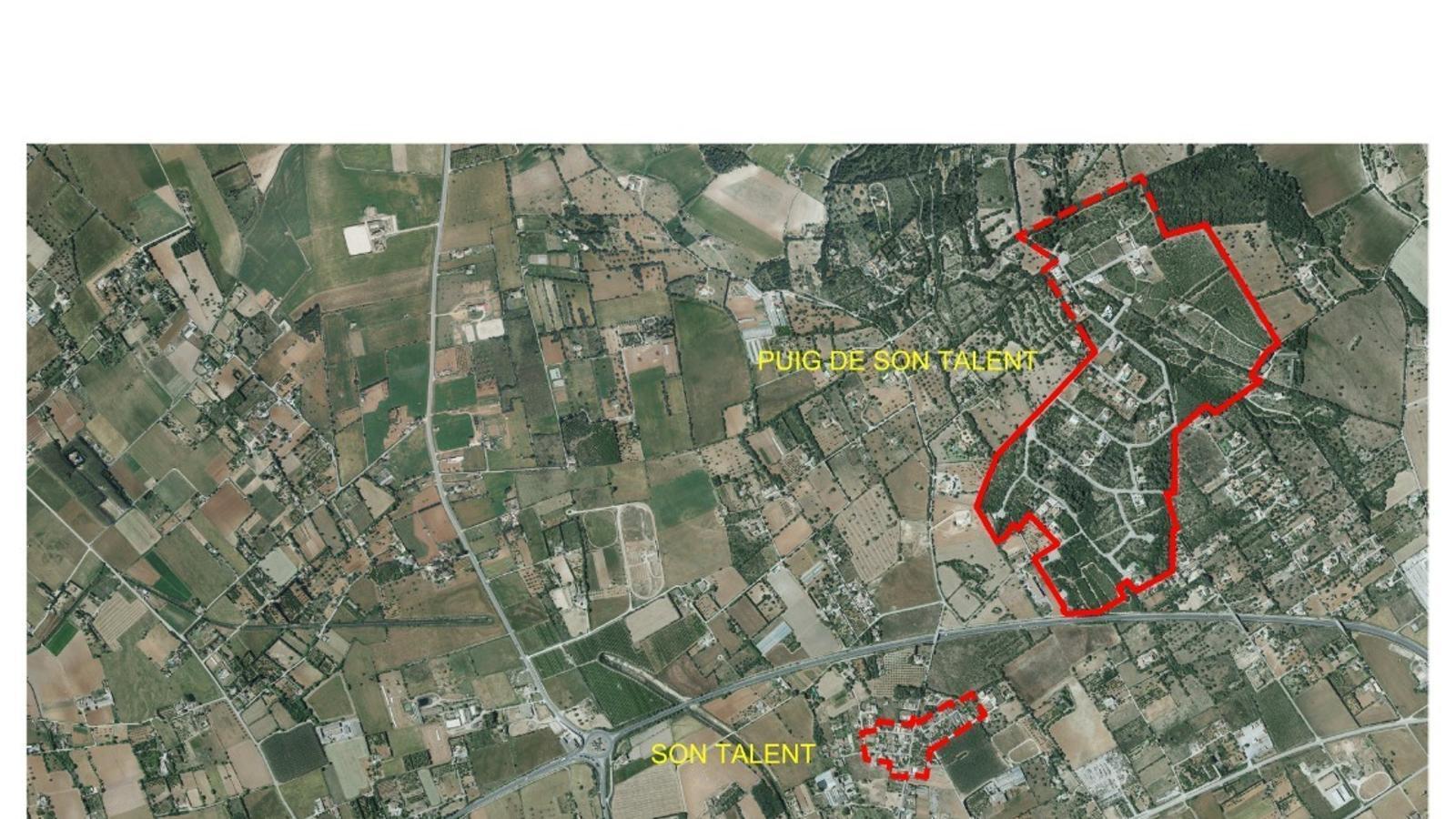 Perimetre afectat per les restriccions./ AJUNTAMENT De MANACOR