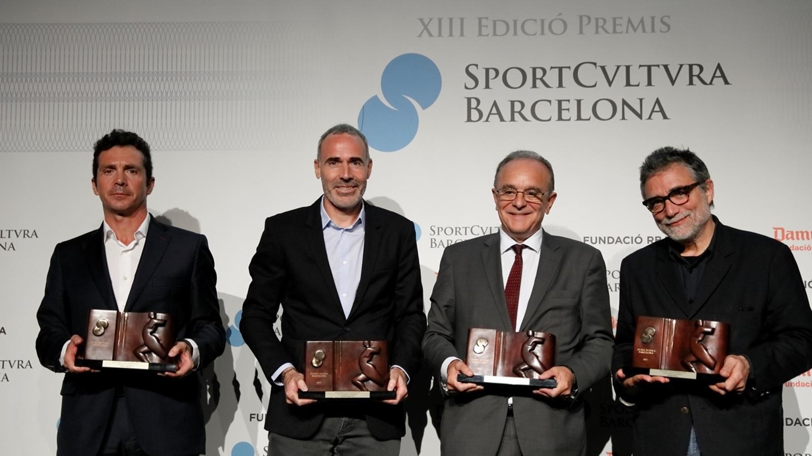 Guillermo Amor, Aleix Corretja, Manel del Castillo i Jaume Plensa