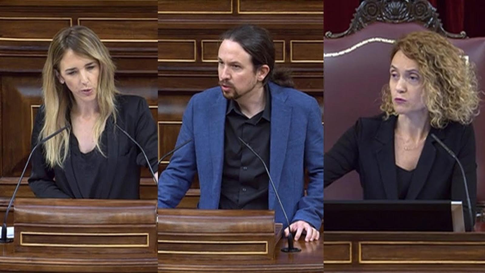"Picabaralla al Congrés quan Álvarez de Toledo acusa el pare de Pablo Iglesias de ser un ""terrorista"""