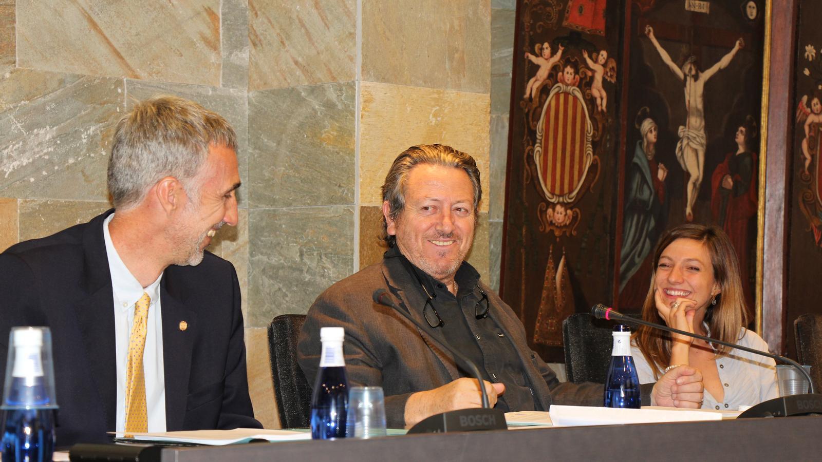 El conseller de la minoria ordinenca, Enric Dolsa / J.D.