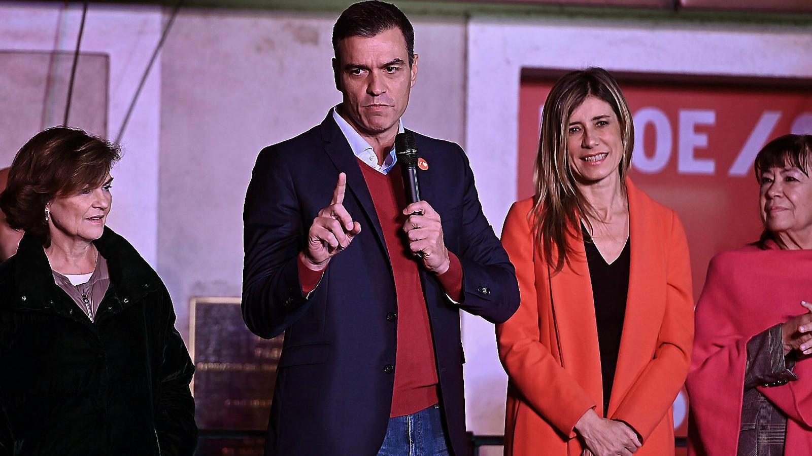 Pedro Sánchez, a La Sexta, quan va dir que no dormiria per les nits en un govern de coalició amb Unides Podem