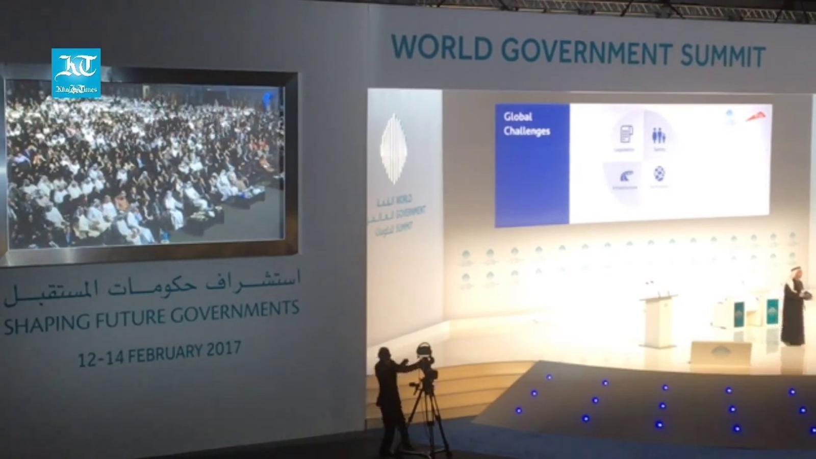 La conferència d'Elon Musk el passat mes de febrer a Dubai