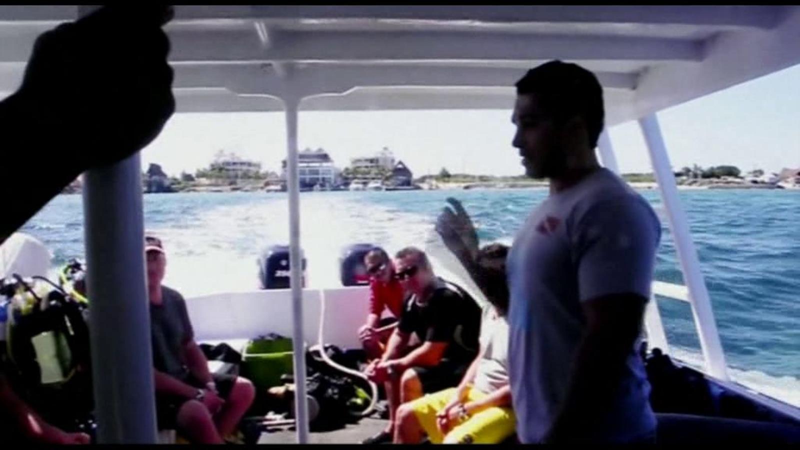 Un grup de submarinistes ballen el 'Harlem Shake' al fons del mar a Cancún