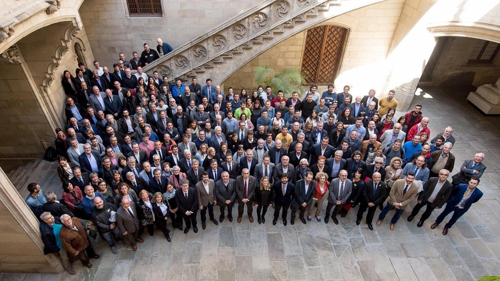 Els representants del sector esportiu s'han reunit a la Generalitat