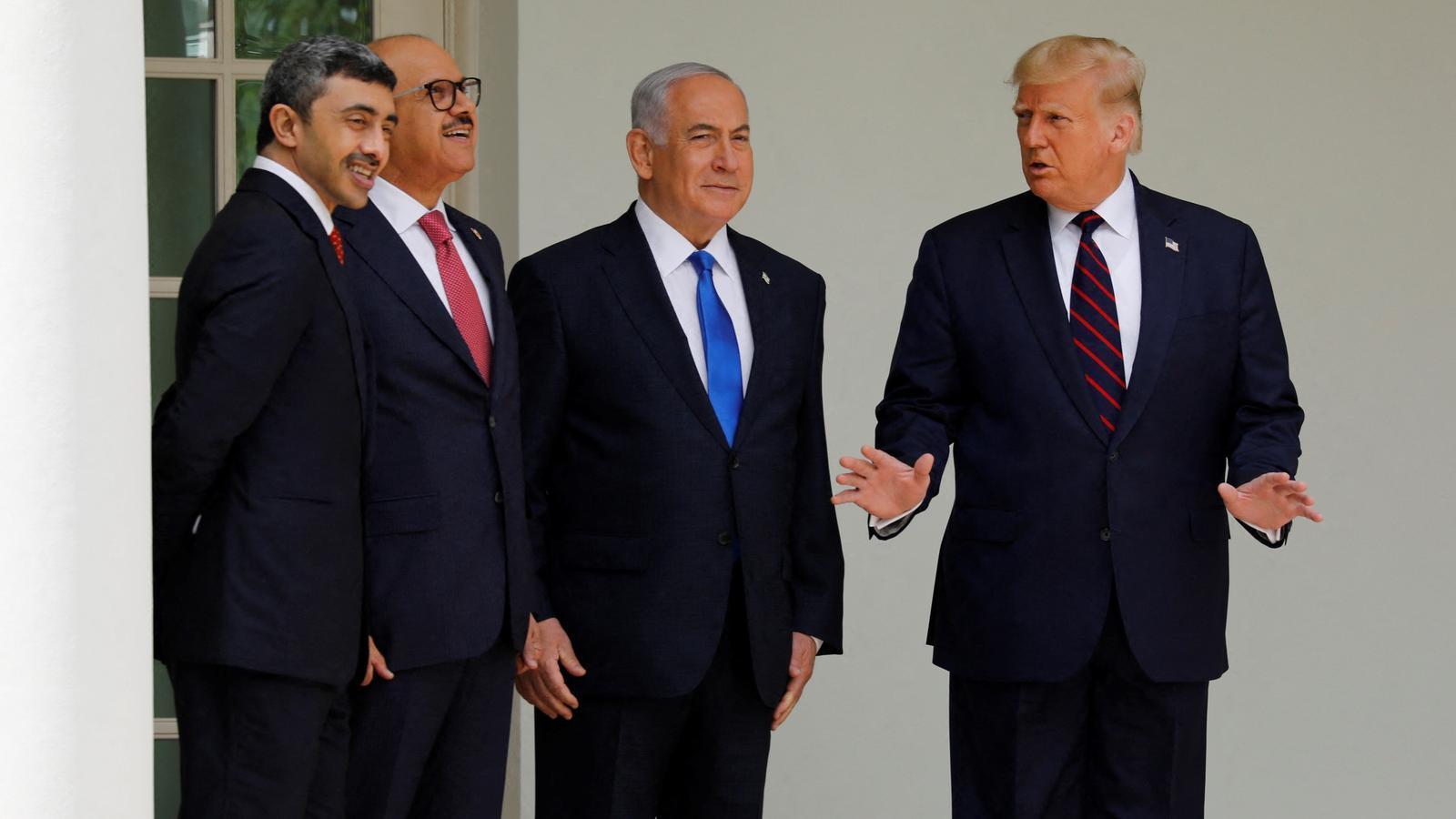 Netanyahu i Trump junts a la Casa Blanca en el viatge oficial del primer ministre israelià als EUA, aquest setembre