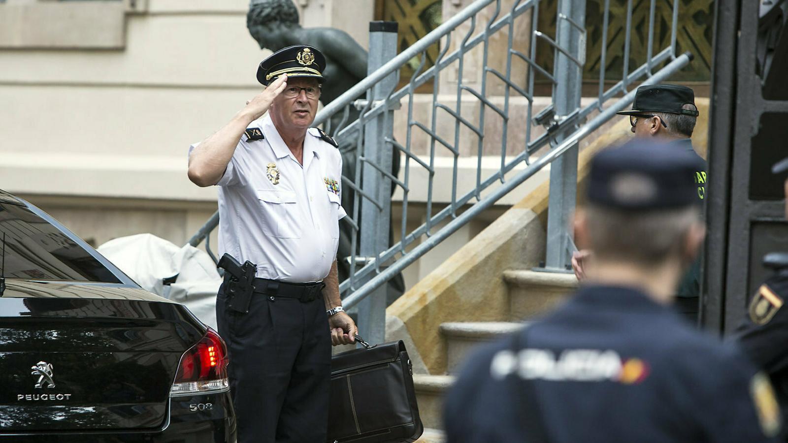 Trapote va ser acusat per la mort de l'obrer José Luis Herrero