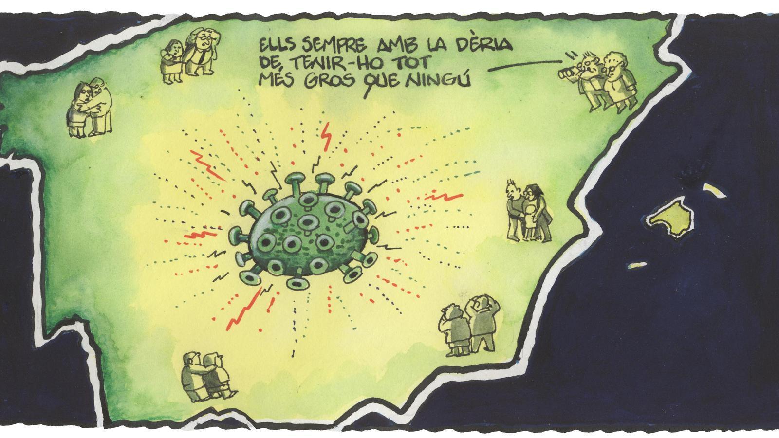 'A la contra', per Ferreres 07/10/2020
