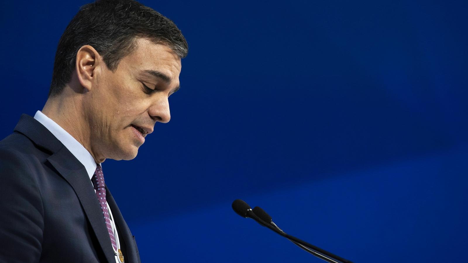 Sánchez suma la reforma del Codi Penal als gestos de distensió amb l'independentisme