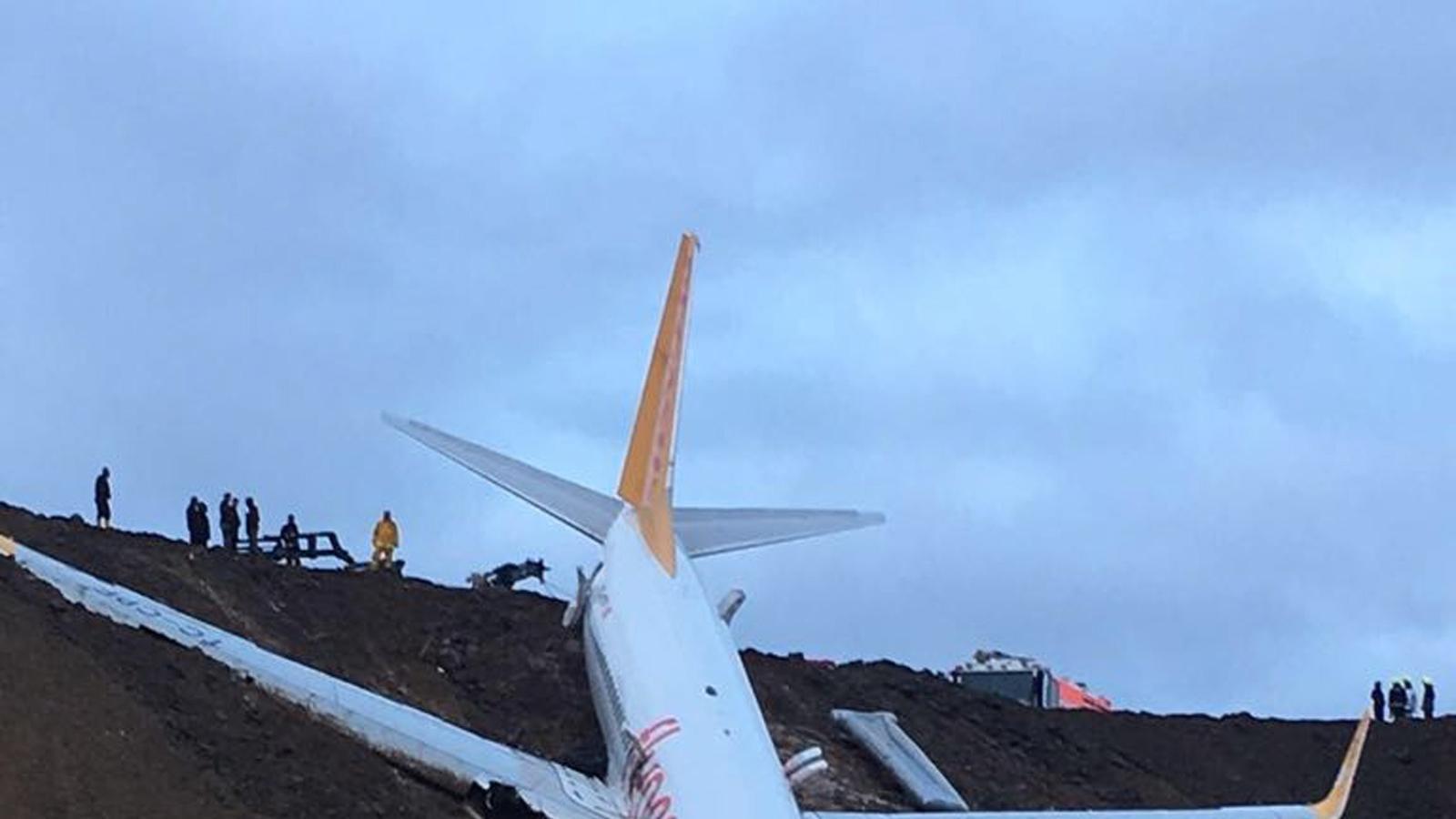 Un avió amb 162 passatgers se surt de la pista a Turquia sense causar víctimes