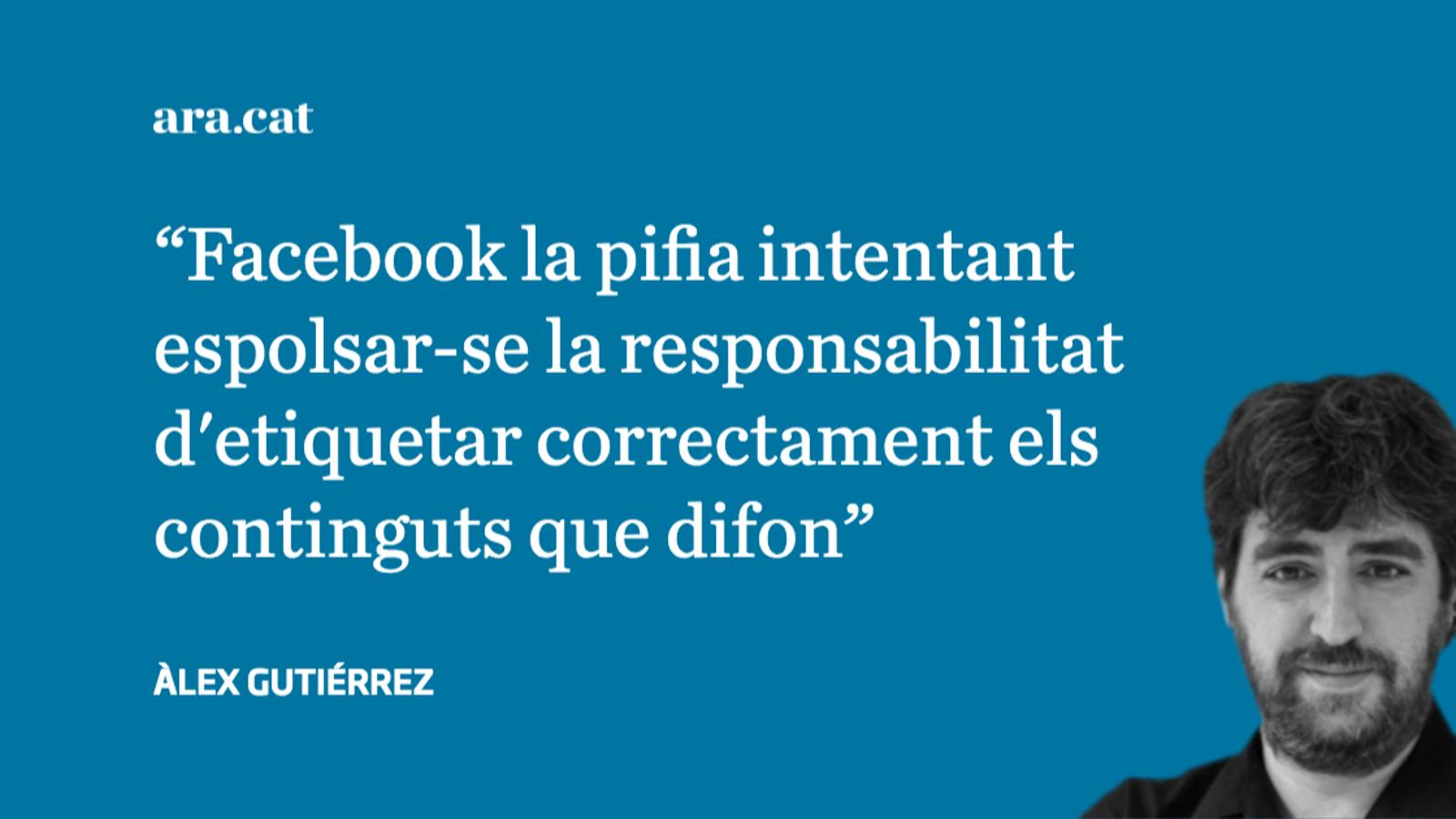Els àrbitres de Facebook no són neutrals