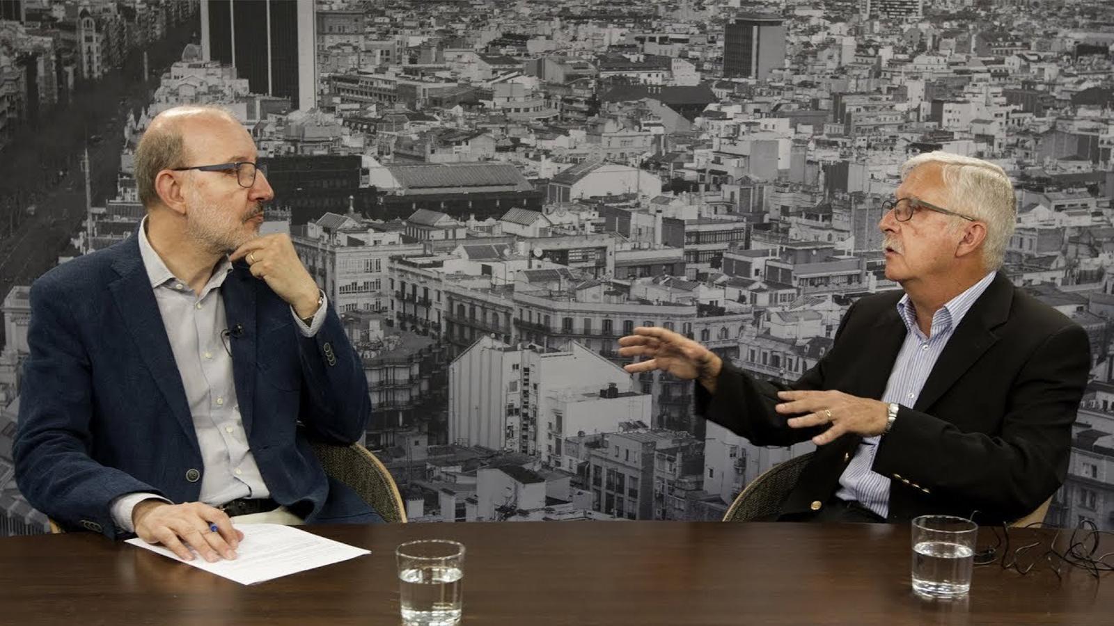 Entrevista d'Antoni Bassas al doctor Jordi Catalán