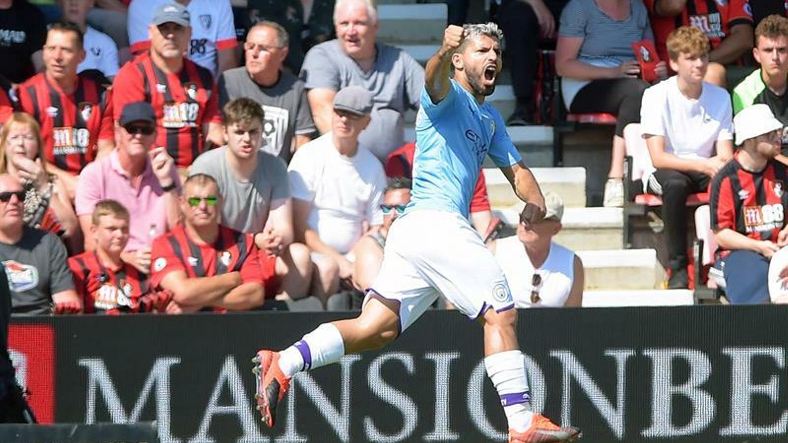 El Manchester City no falla a Bournemouth i persegueix el Liverpool (1-3)