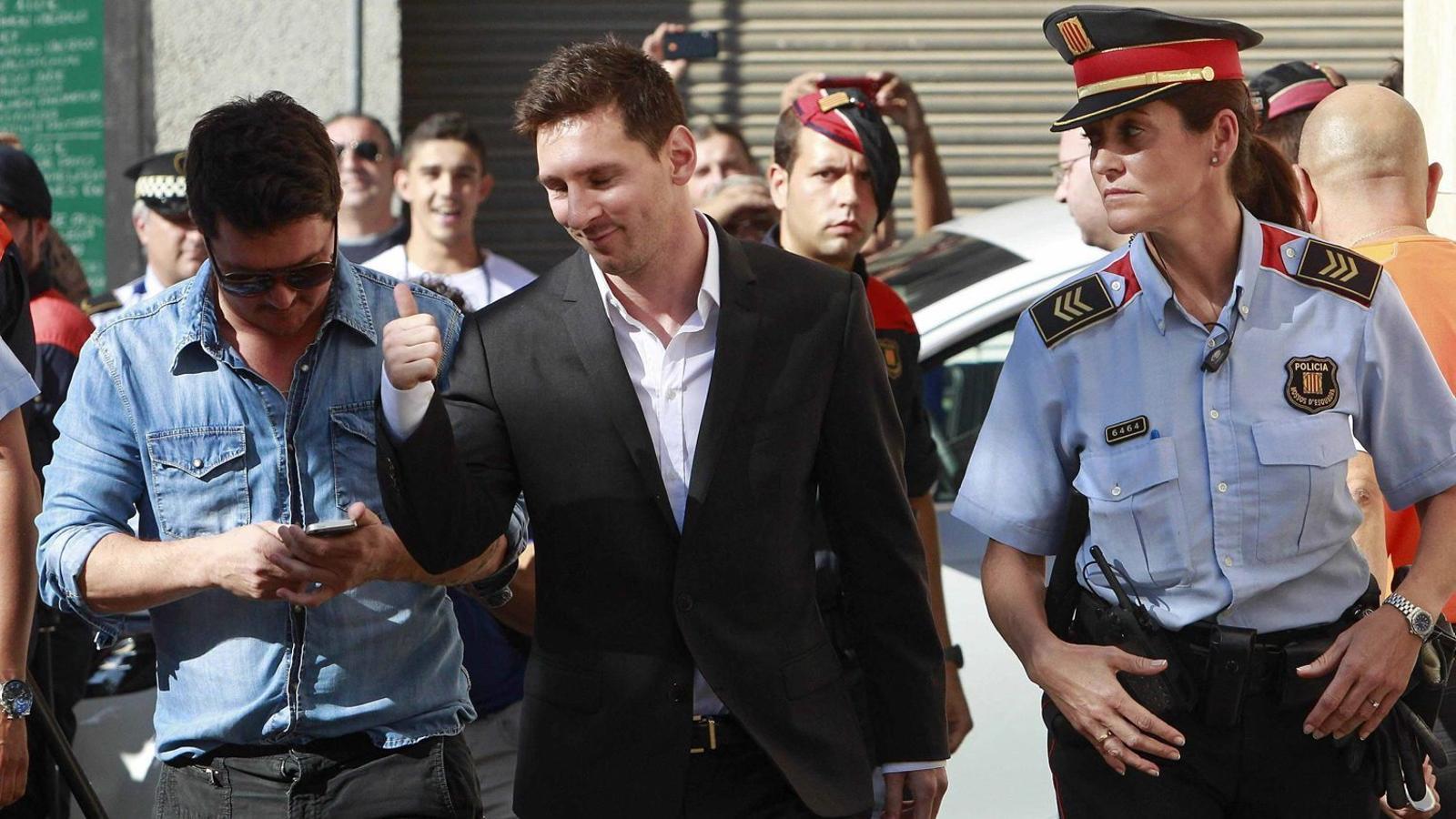 Els Messi afirmen que mai han fet servir la societat que els vincula amb els 'papers de Panamà'