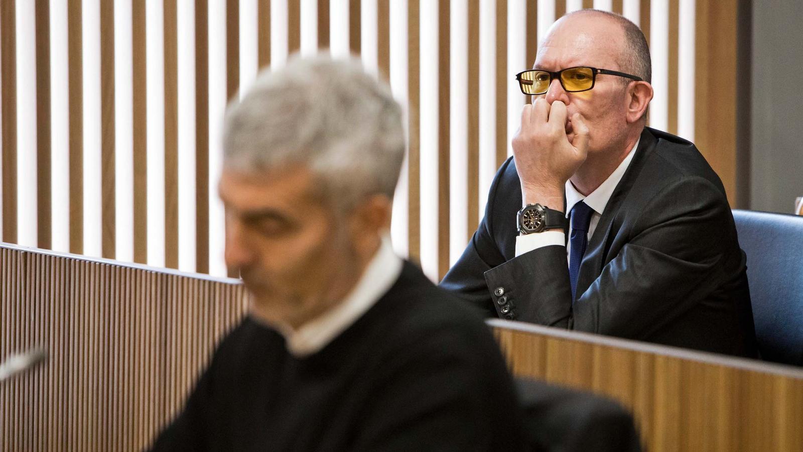 El conseller general del grup parlamentari socialdemòcrata, Quim Miró. / PS