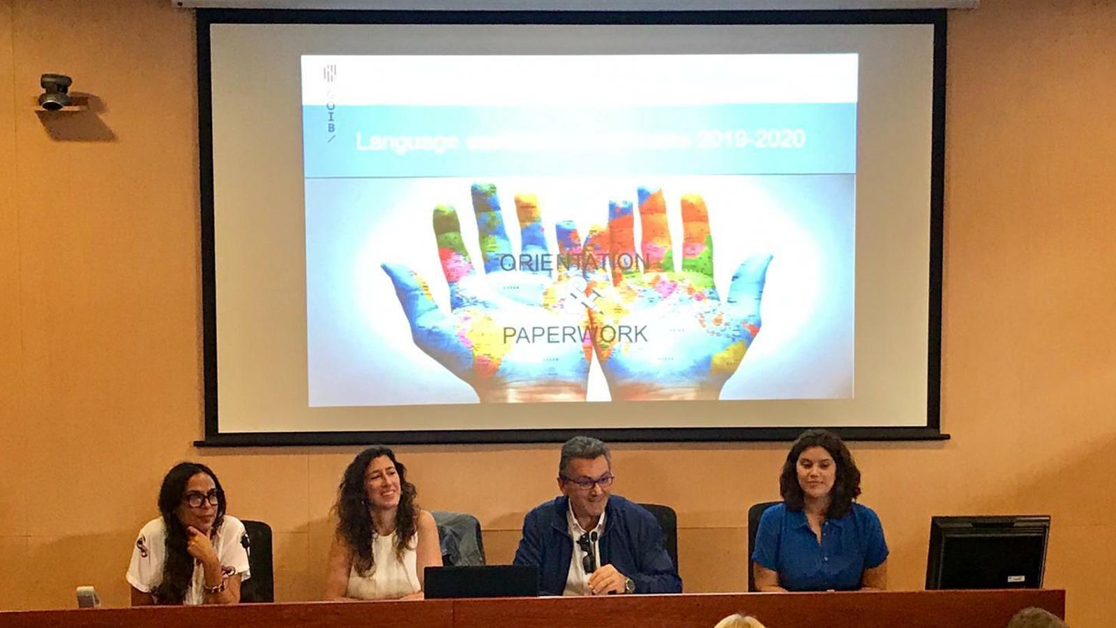 El delegat d'Educació a Menorca, Joan Marquès ha participat a la jornada celebrada a la seu de la UIB.
