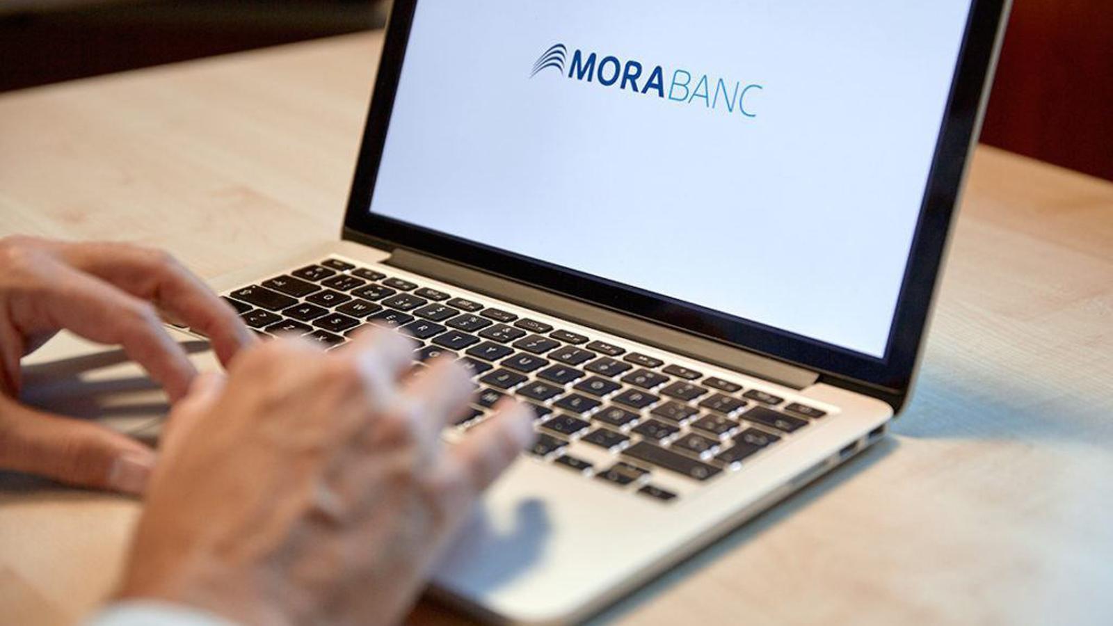 L'oferta de banca digital de MoraBanc segueix creixent. / ARXIU ANA