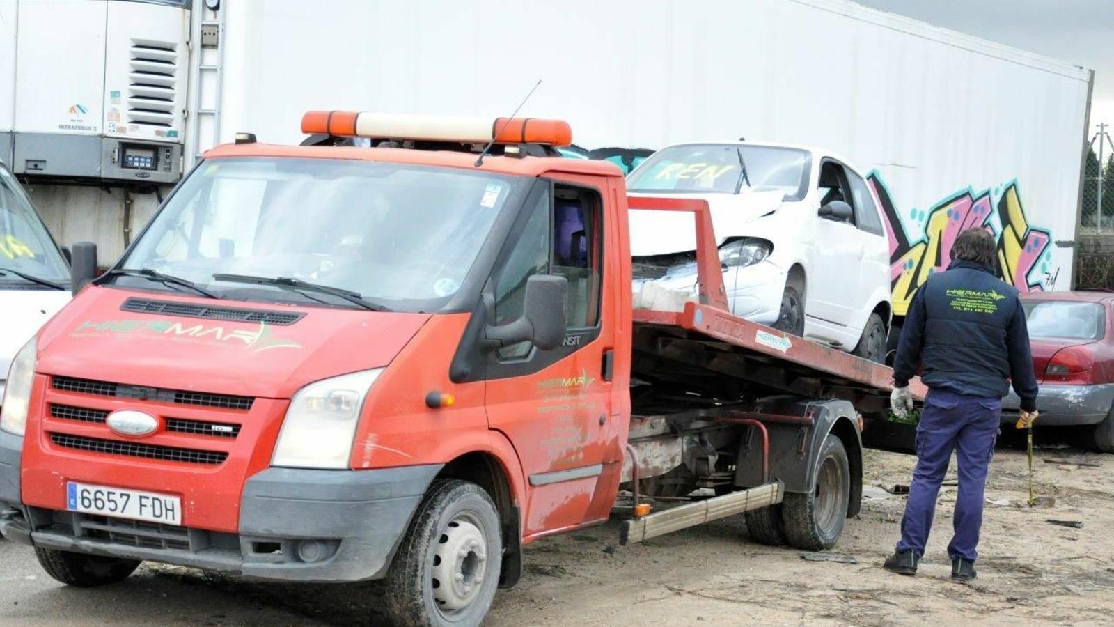 Al dipòsit de Son Toells només es podran emmagatzemar vehicles retirats per la grua, per infracció o accidentats