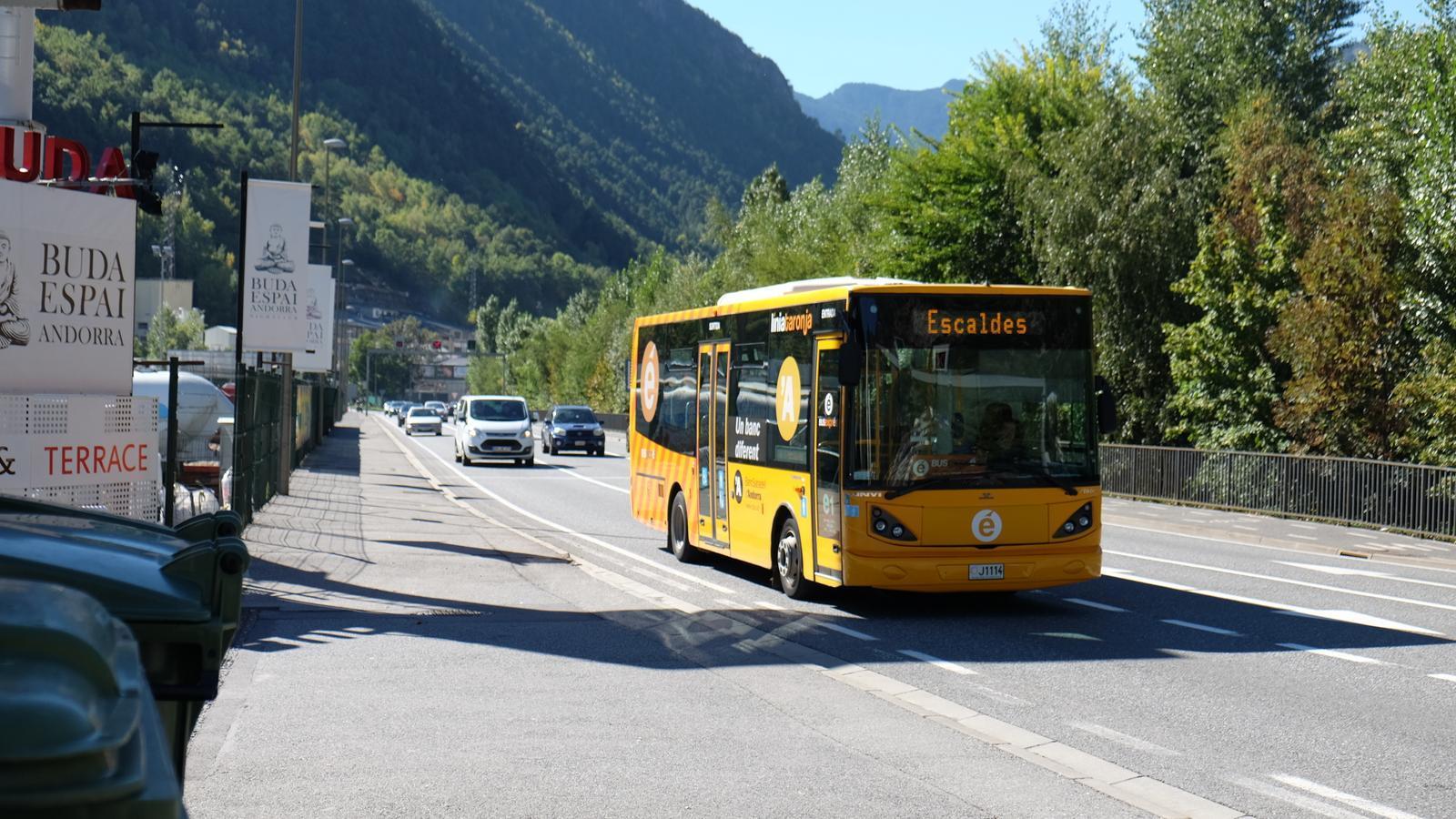 El Bus Exprés. / ARXIU