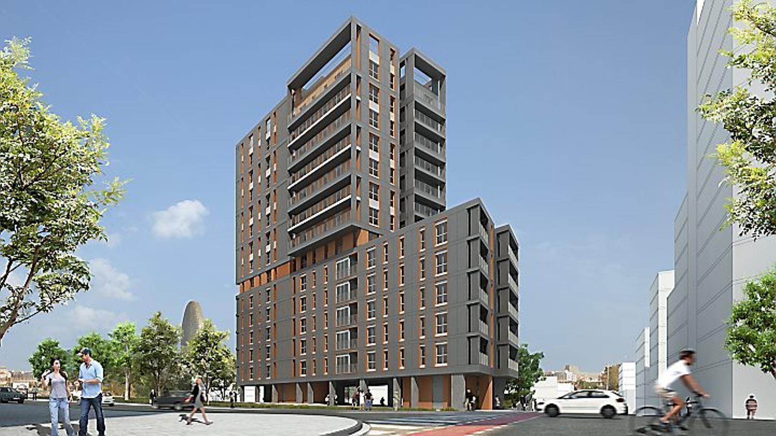 El sabadell fa pisos per primer cop a barcelona for Banc sabadell pisos