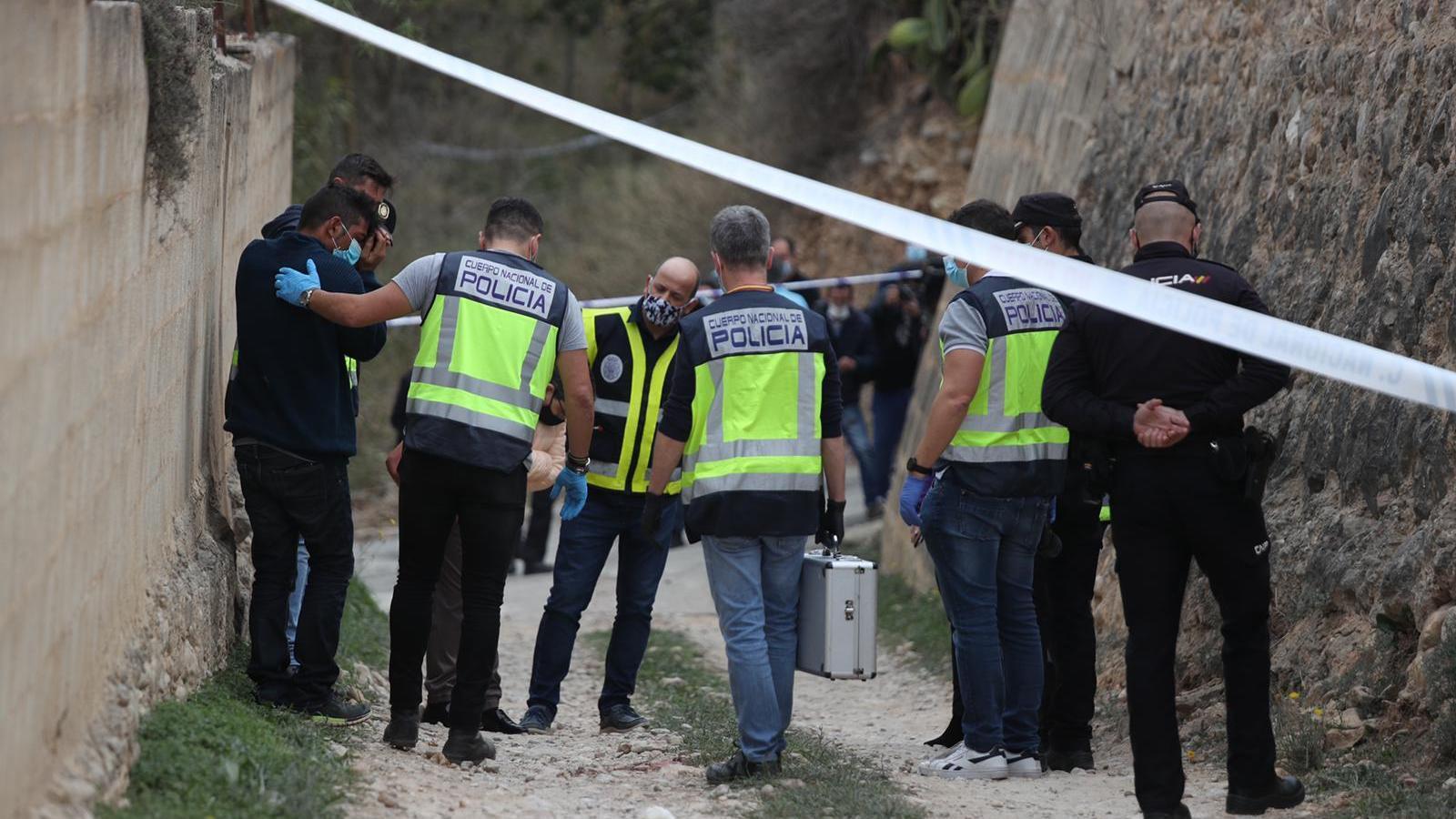 Un home confessa que va matar la seva ex a Palma d'un cop de pedra al cap