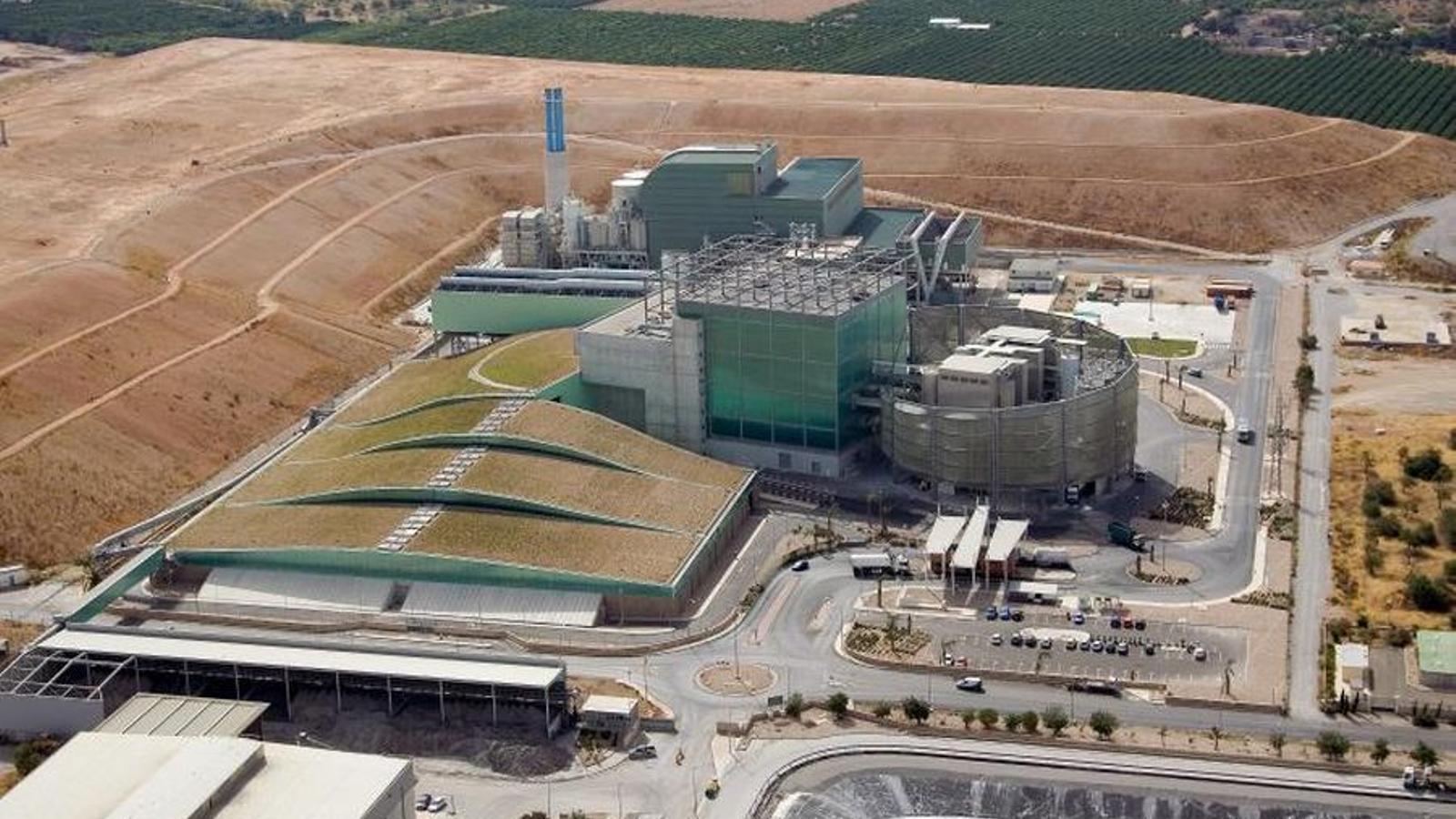 La planta incineradora que Tirme gestiona a Son Reus. ARA BALEARS