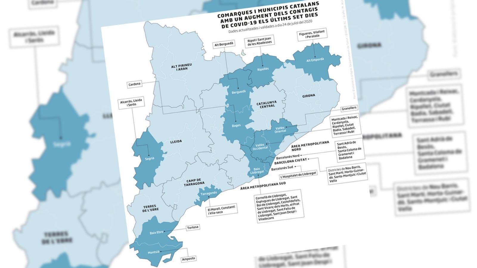 Augment de contagis en 40 municipis, Simón diu que les restriccions britàniques són bones i Bargalló assegura que obriran totes les escoles: les claus del dia, amb Antoni Bassas (28/07/2020)