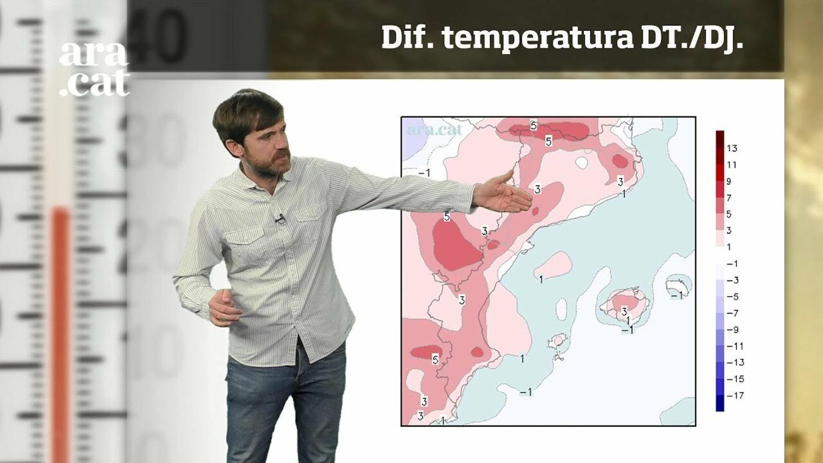 La méteo en 1 minut: la temperatura revifarà una mica abans del cap de setmana