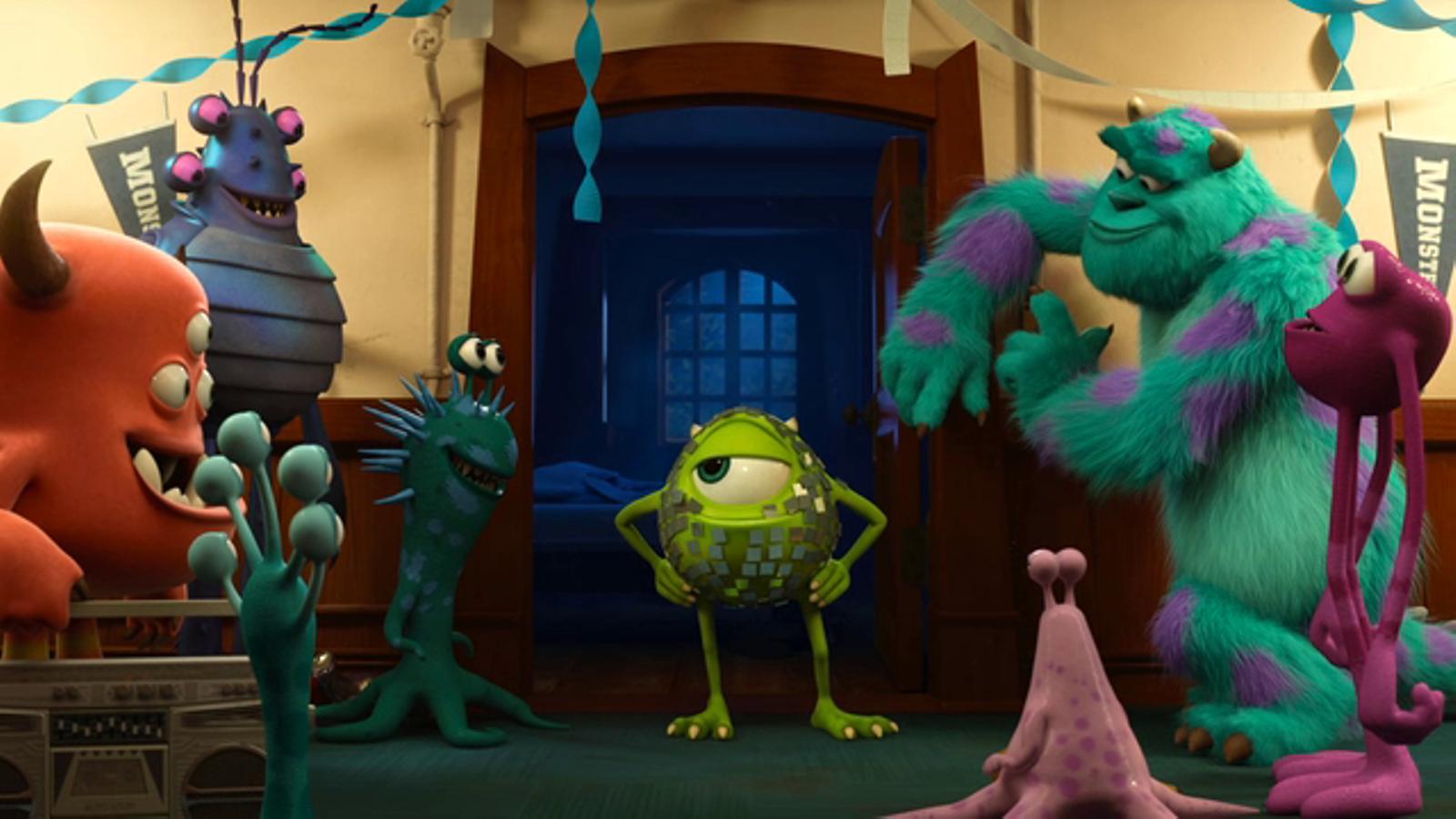 Tràiler de 'Monsters University'