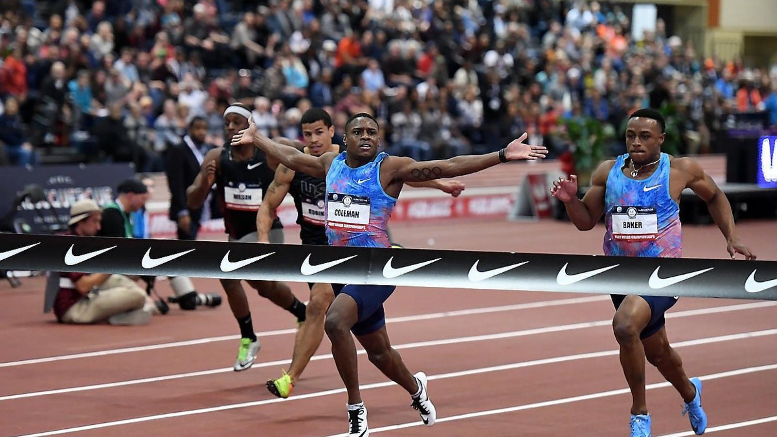 Coleman es confirma com l'home més ràpid del món