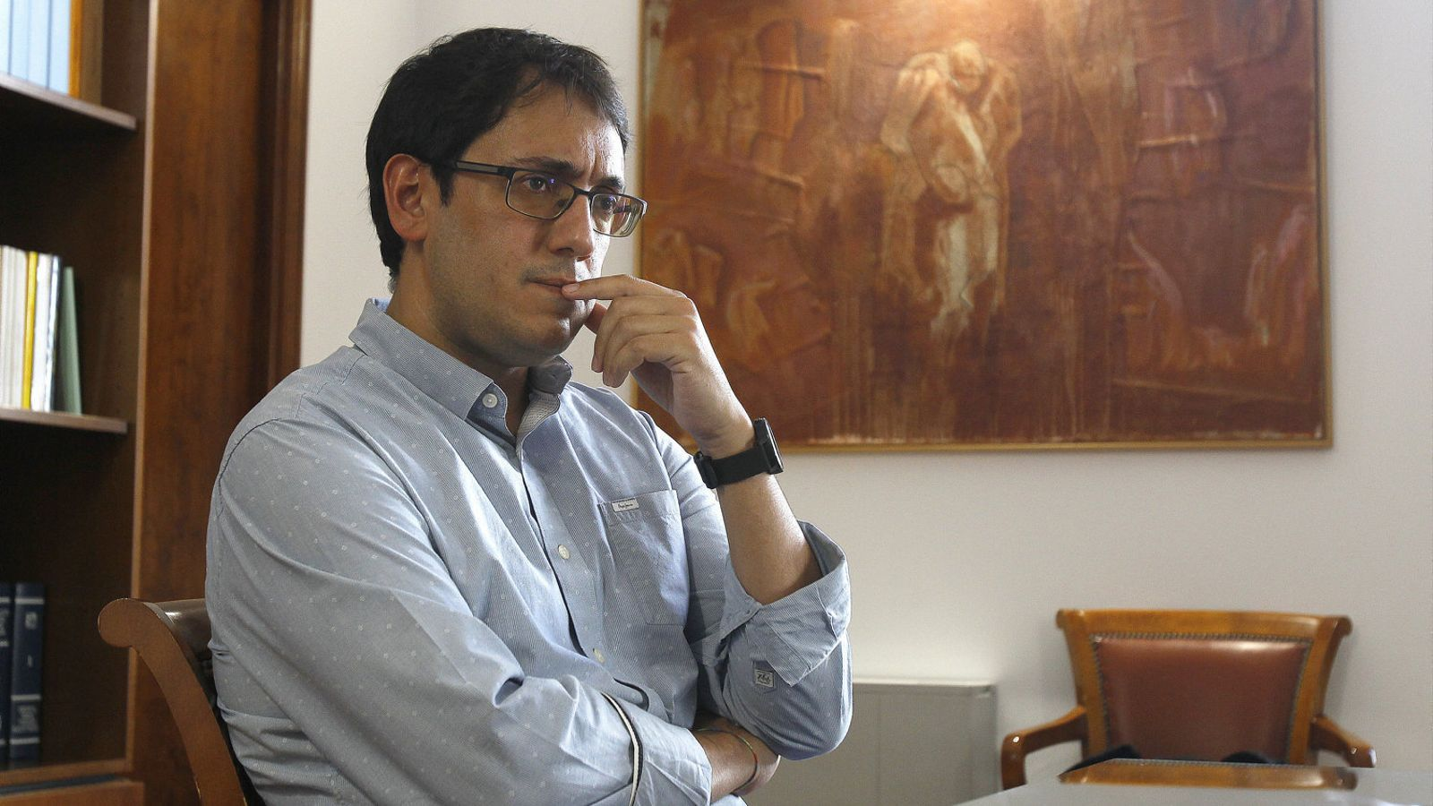 """""""Si la crisi és en V,                            la recuperació plena podria ser el 2022"""" Iago Negueruela"""