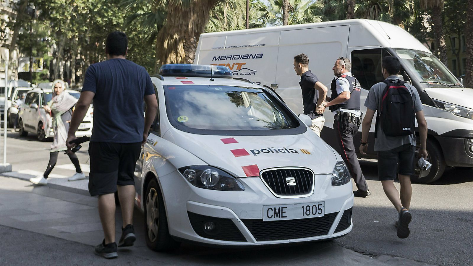 Barcelona tanca l'estiu amb menys delictes però més violents