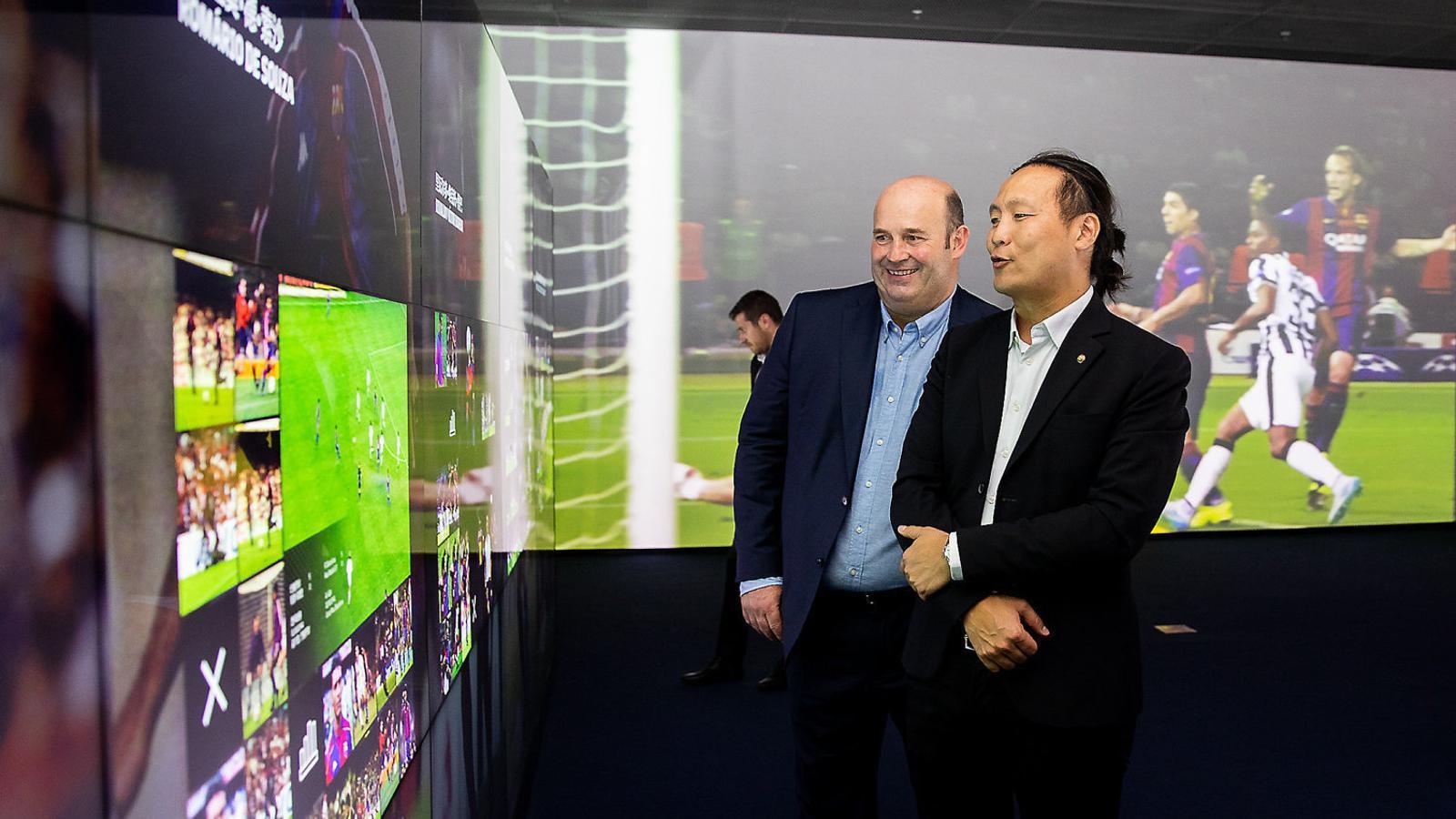 Poder xutar penals al  Camp Nou des d'una illa xinesa