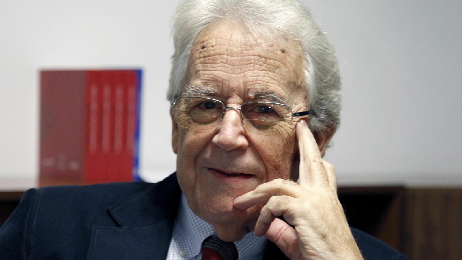 L'historiador gallec Santos Julia el 2018.