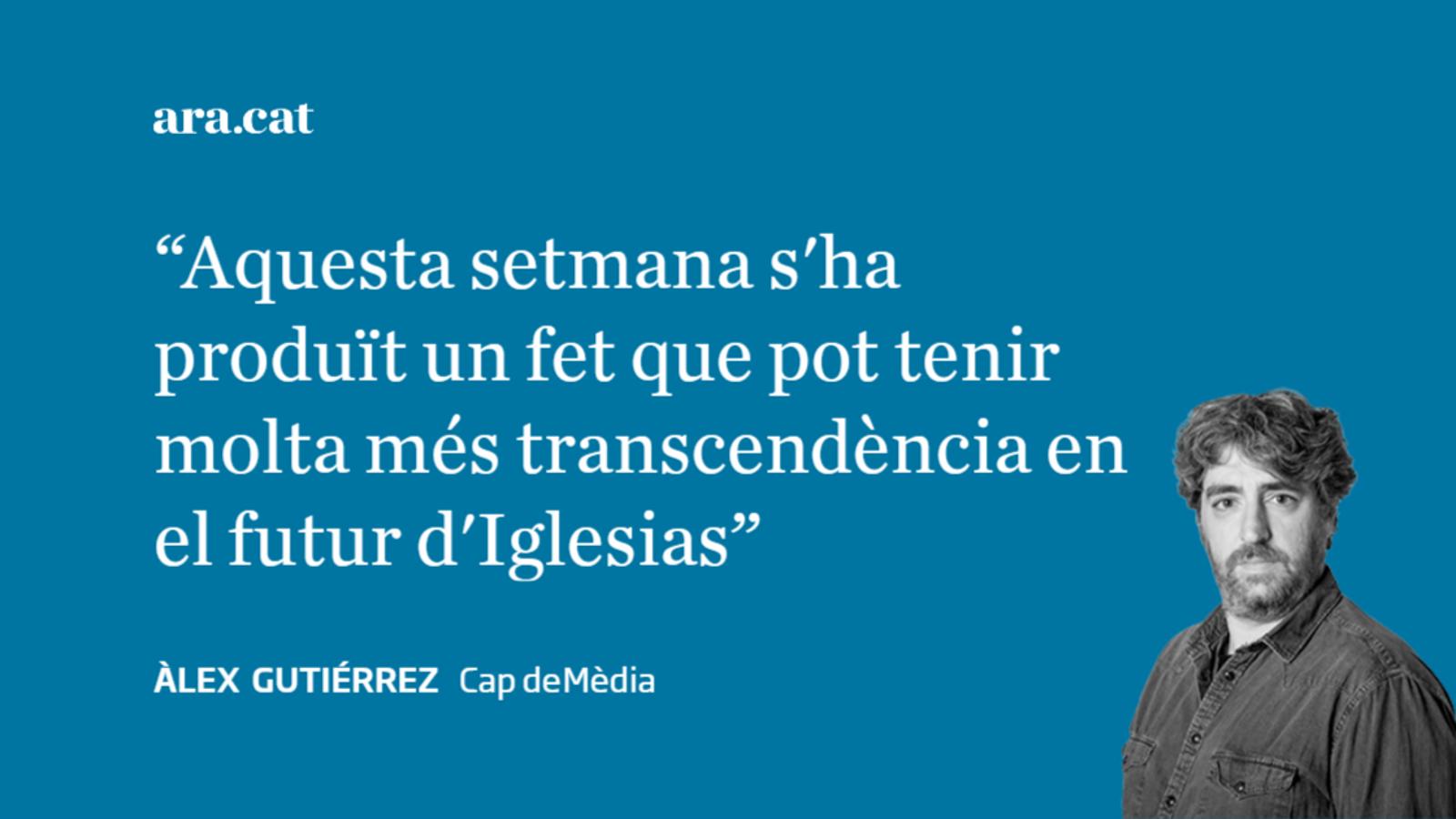 No serà una targeta SIM el que es carregarà Iglesias