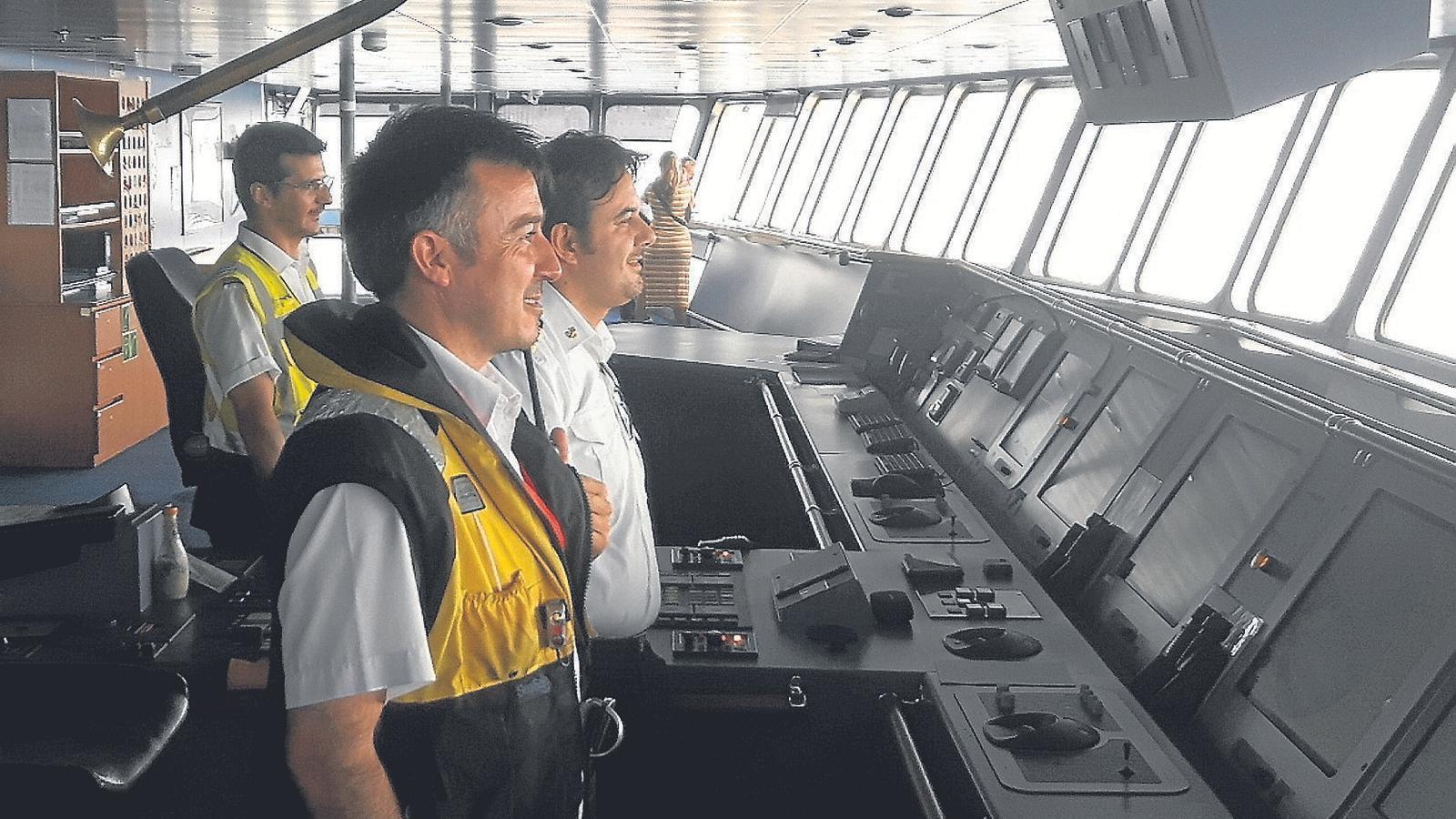 El pràctic, clau perquè els vaixells arribin  a bon port