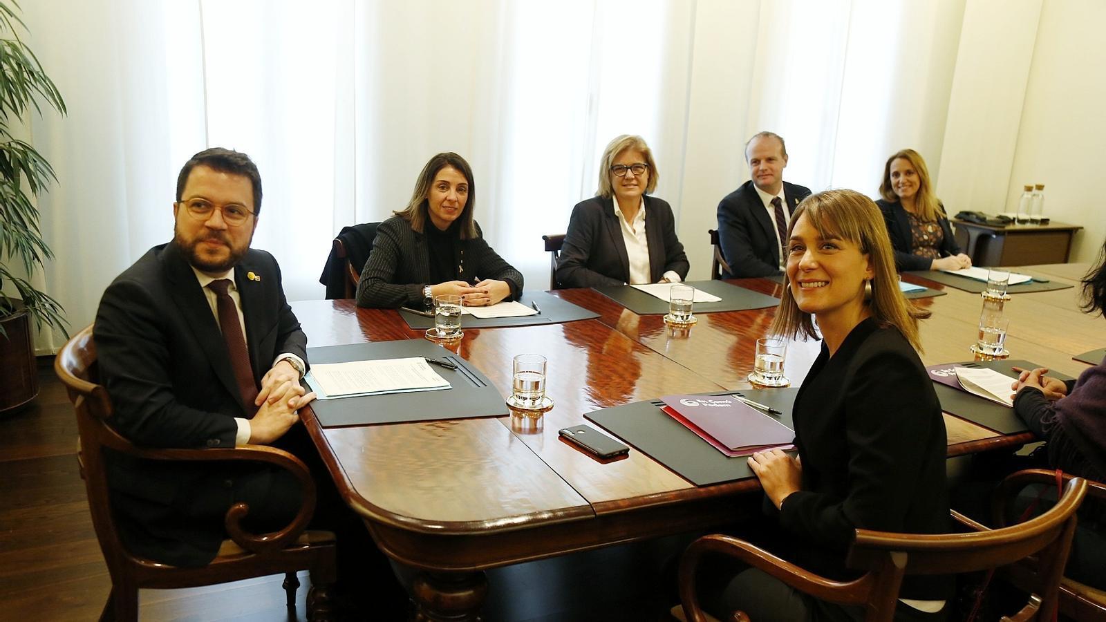 Govern i comuns segellen l'acord definitiu pels pressupostos del 2020