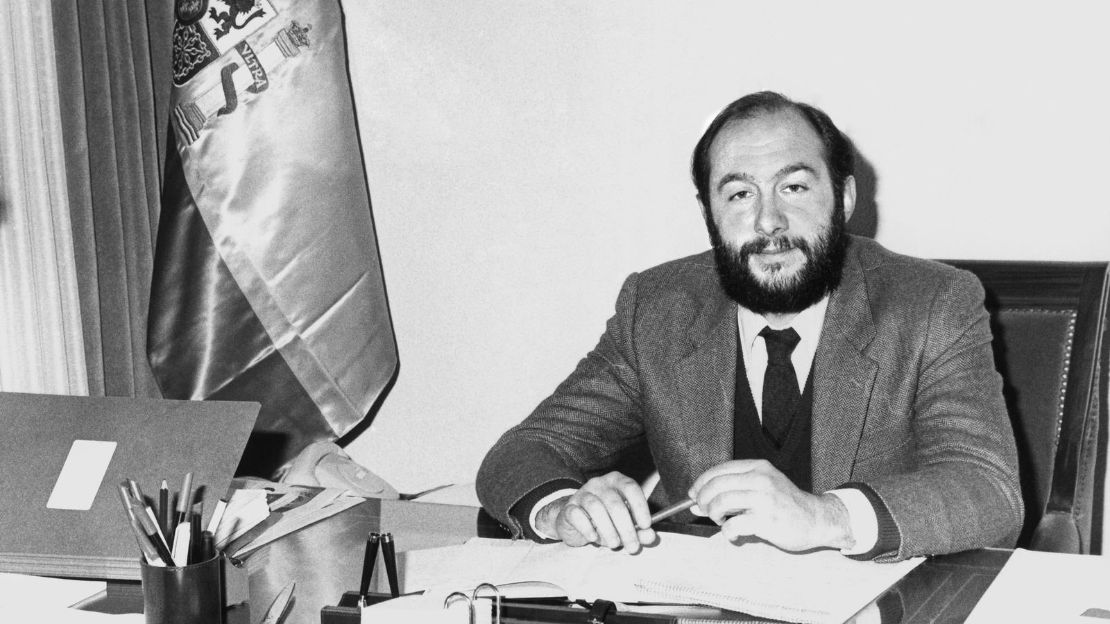 Alfredo Pérez Rubalcaba, quan era director del Gabinet Tècnic de la Secretaria d'Estat d'Universitats i Investigació