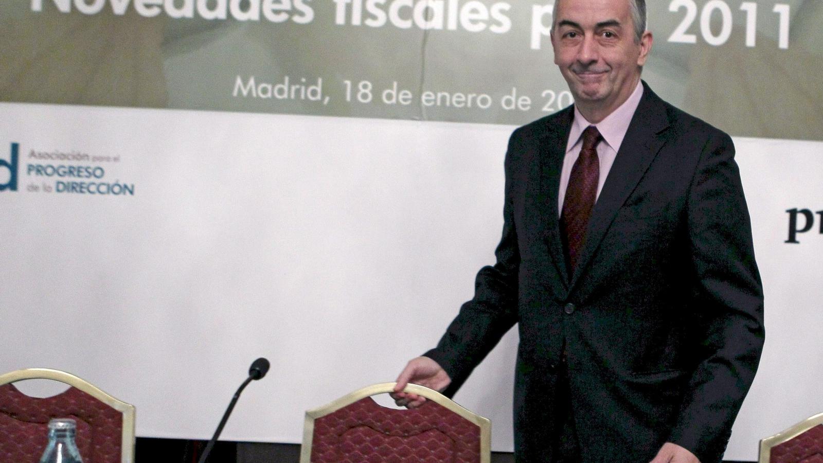 El secretari d'Estat d'Hisenda i Pressupostos, Carlos Ocaña
