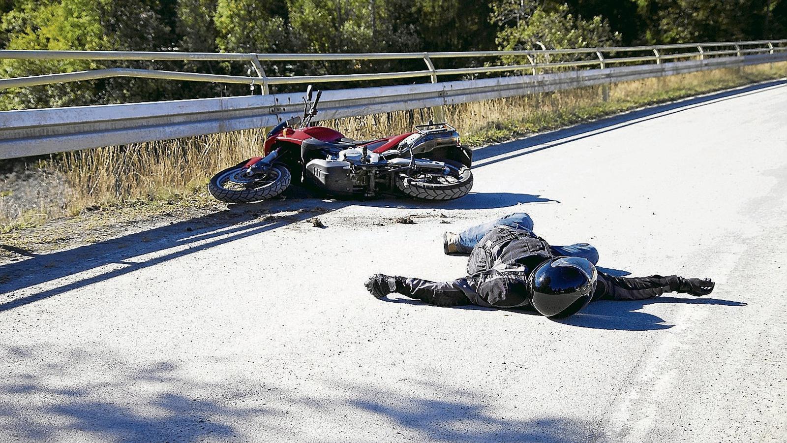 La mortalitat en accidents de motos s'ha doblat respecte al mateix període de l'any passat.